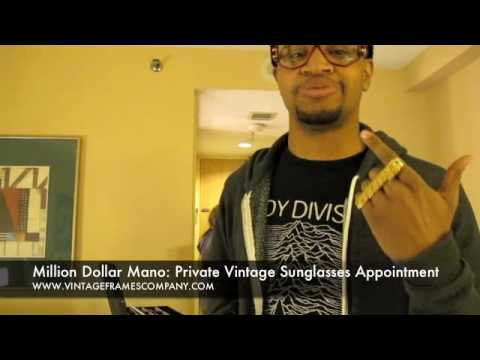 Mano Dollar Mano: Private Vintage Sunglasses Showing In Ottawa