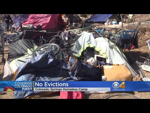 No Evictions For Homeless Camp In Colorado Springs