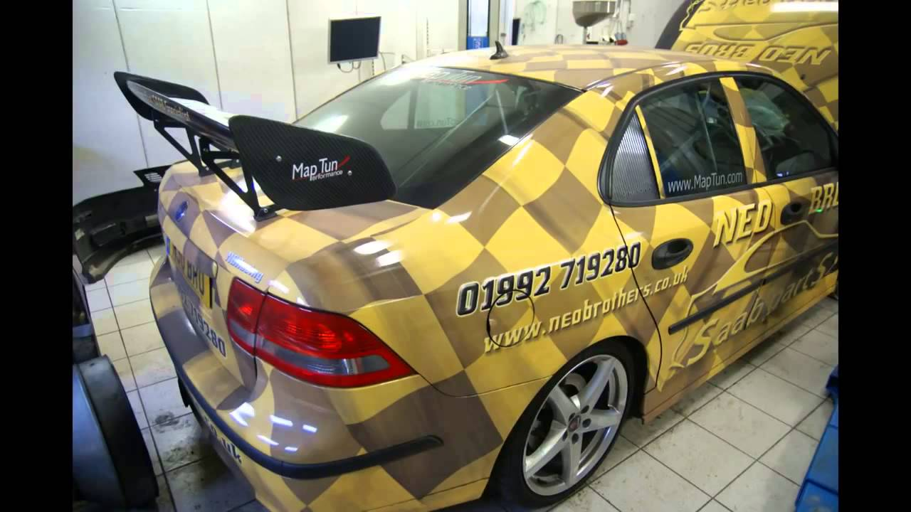 Worlds most powerful Saab 9 3SS Trionic 8