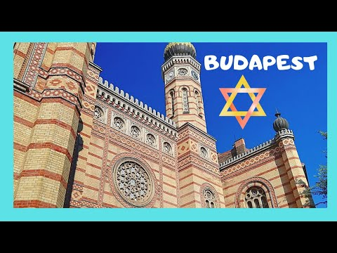 BUDAPEST, the Dohány Street SYNAGOGUE, Europe's  most magnificent (HUNGARY)