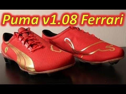 Retro Unboxing Puma V1 815 Ferrari Youtube