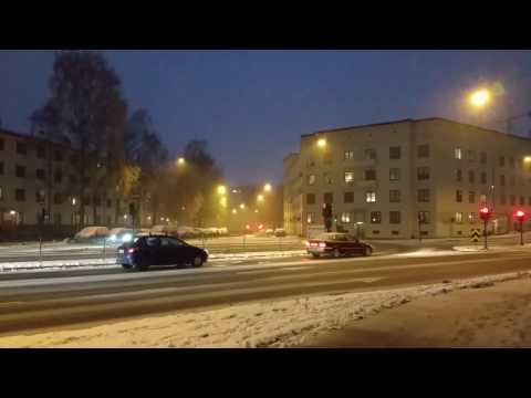 Glimpse of winter in Norway's Capital Oslo