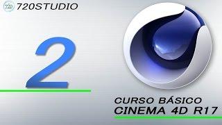 Curso Básico Cinema 4D R17 Parte 2 - Tutorial para Principiantes - En Español
