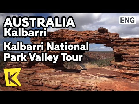 【K】Australia Travel-Kalbarri[호주 여행-칼바리]국립공원 계곡 투어/National Park/Valley Tour/Bush/Thorny/Murchison