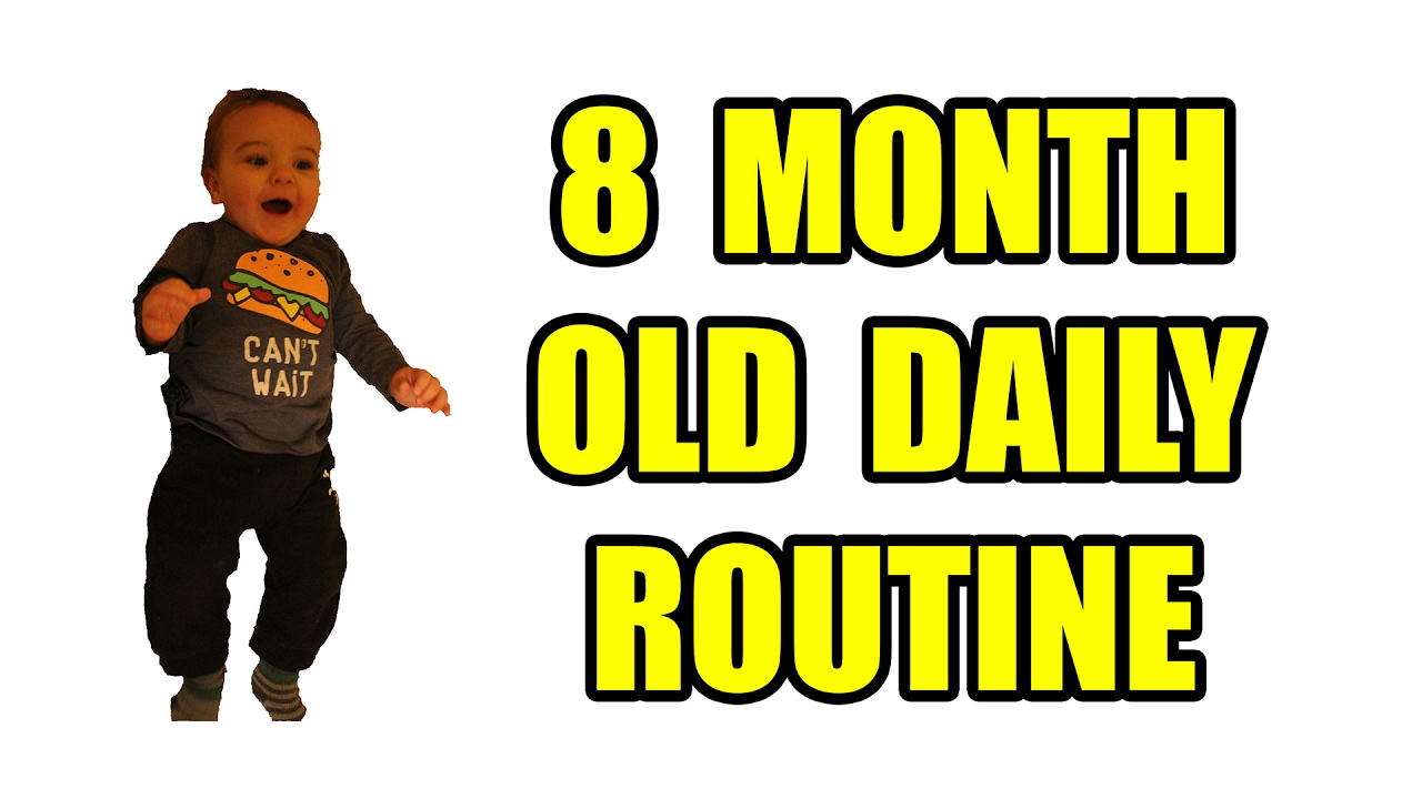 8 month old daily routine youtube geenschuldenfo Gallery