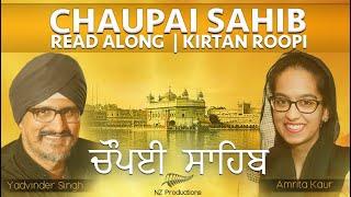 Chaupai Sahib - Amrita Kaur & Yadvinder Singh