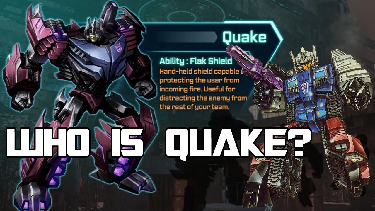 Transformers Fall Of Cybertron Wallpaper Who Is Quake Transformers History Youtube