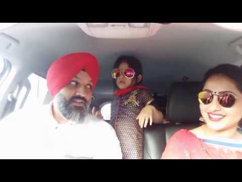 Punjabi Bhangra in car on bumb jatt