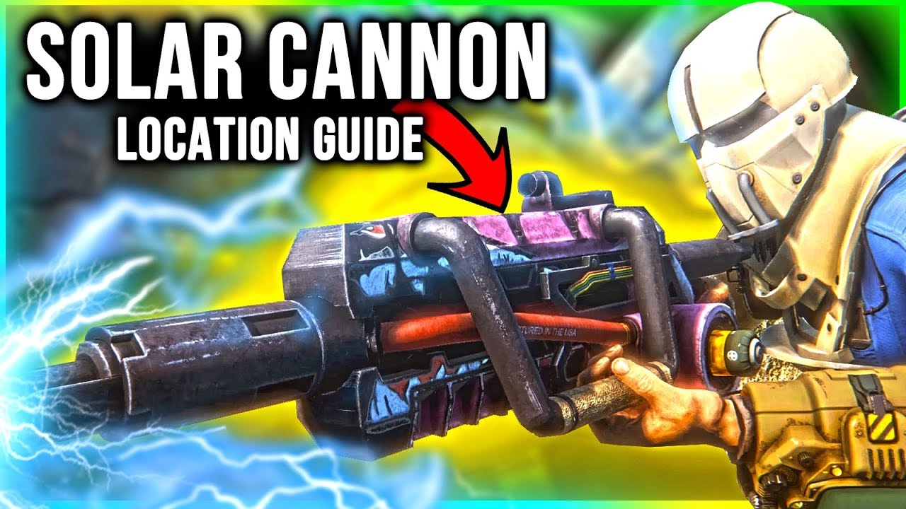 Fallout 4 Weapons Locations - Solar Cannon Rifle