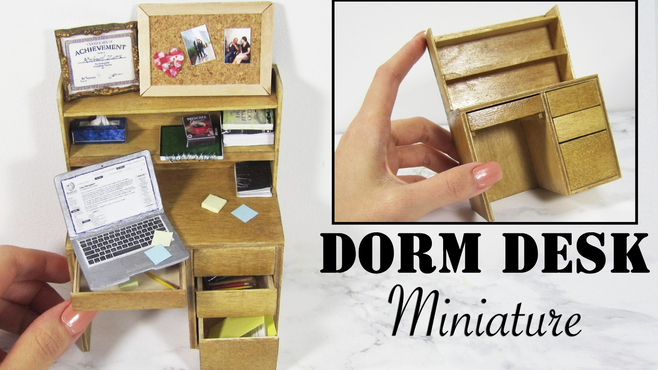 Creating Dollhouse Miniatures