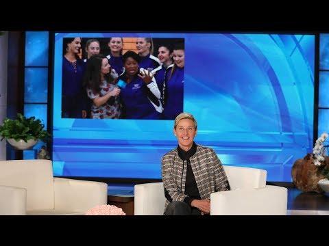 High School Assistant Principal & Dance Team 'Level Up' with Ellen's Big Surprise