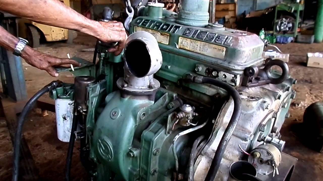 Motor Detroit Diesel 3cc S U00e9rie 3-71 Americano