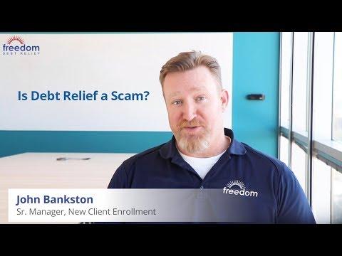 beware-of-debt-scam---find-legitimate-debt-relief-companies-|-freedom-debt-relief