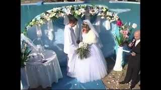 Красивая свадьба 2017 Цвет бирюза Нежный клип.