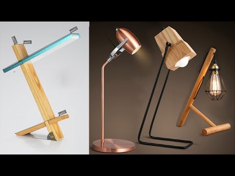 25 Best DIY LED table Lamp Ideas, Eye Protect Night Lights, DIY Desk Lamp