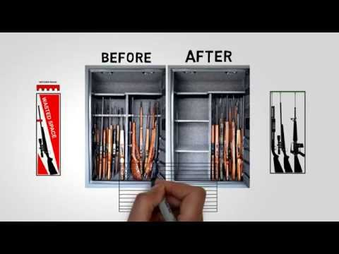 Make Your Gun Safe SMART - Rifle Rods