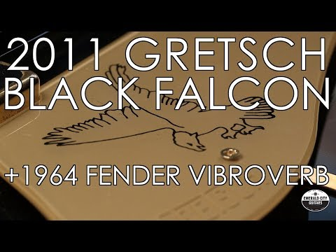 """Pick of the Day"" - 2011 Gretsch Black Falcon and 1964 Fender Vibroverb"