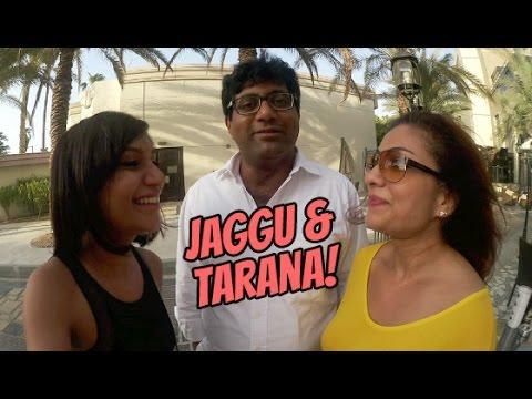 A Radio Message From Jaggu & Tarana (All The Way From Dubai!)