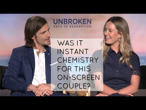 Unbroken: Path to Redemption's Samuel Hunt and Merritt Patterson on chemistry