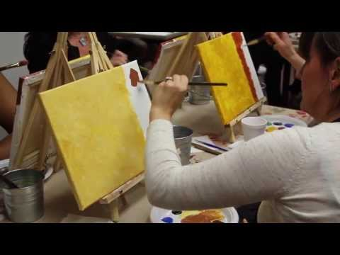 A blank canvas, a glass of wine. Your creativity unleashed! Looking for a way to explore your artistic side but not sure where to start?  Art Plus Studio offers an exciting, creative class for both the artistic and not so artistic. Come out and join