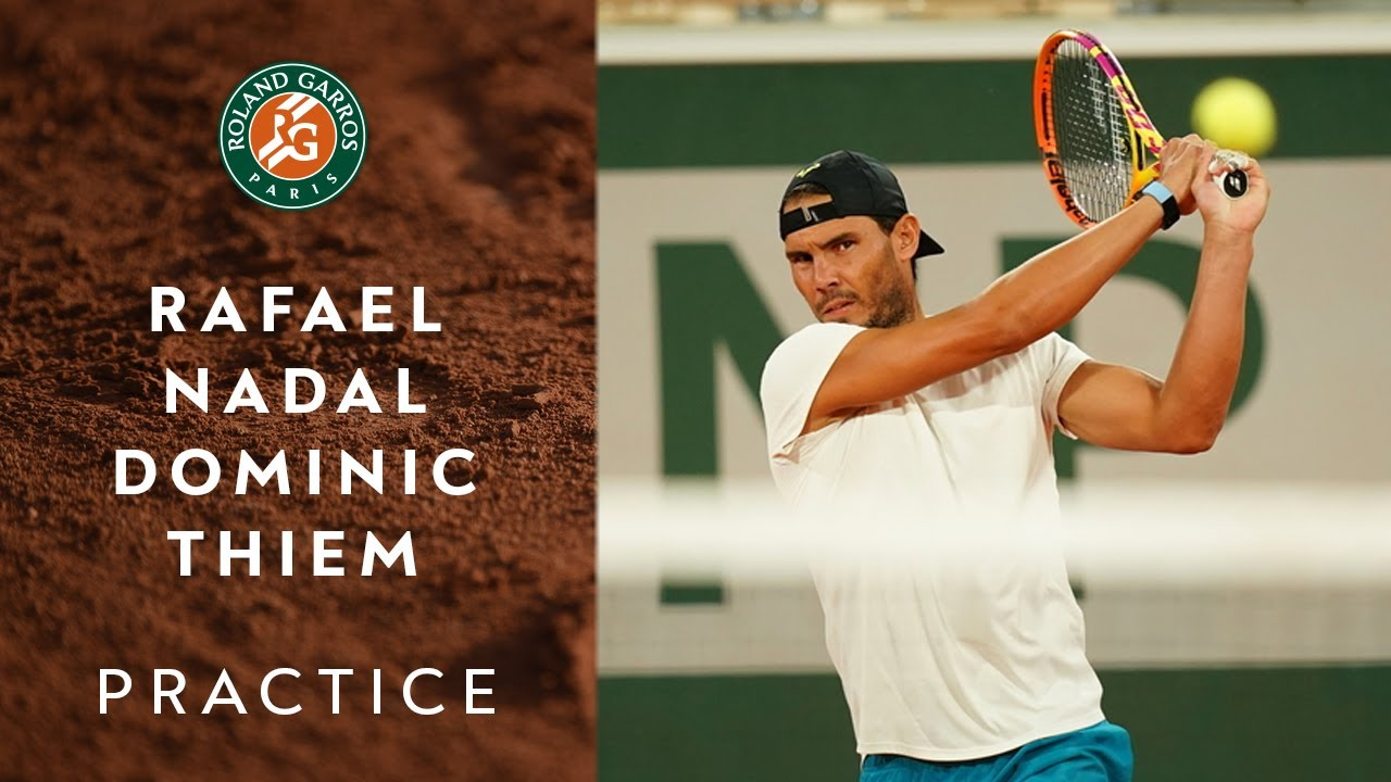 Rafael Nadal And Dominic Thiem Are Back On Clay For Practice Roland Garros 2020 Youtube