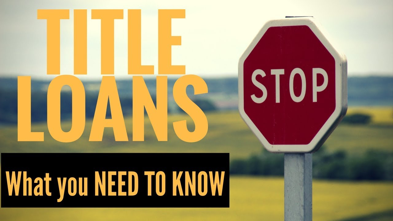 What Are Title Loans How Do Title Loans Work Dont Get Screwed Over