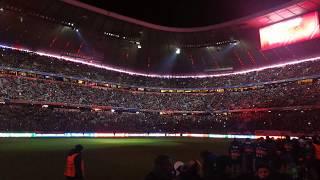 Allianz Arena Aufstellung FC Bayern München gegen Paris St Germain Dezember  2017 4K UHD