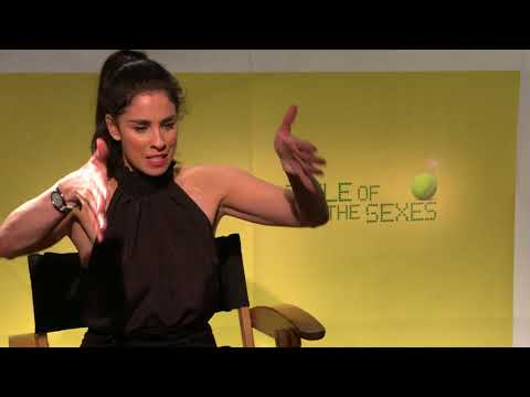 Battle of The Sexes Sarah Silverman Interview