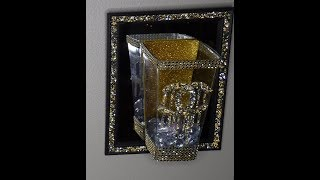 DOLLAR TREE CHANEL INSPIRED CANDLE HOLDERS