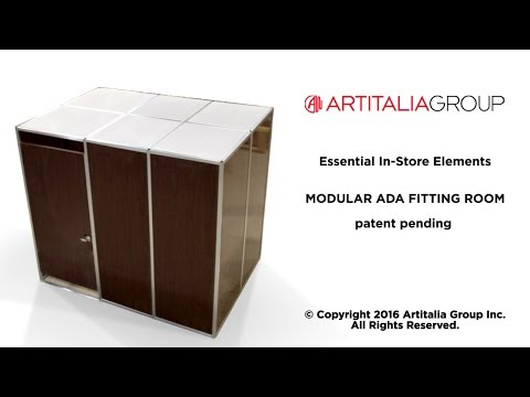 Artitalia Group  Modular ADA Fitting Room