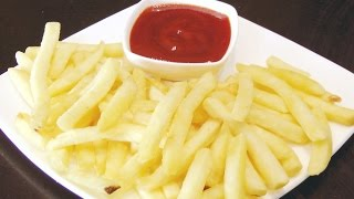 How to make French Fries at home | Secret Tip to keep fries Crisp | Homemade Crispy French Fries |