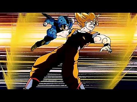 COMBAT FICTIF : GOKU et GOHAN FULL POWER VS 7 CELL jr