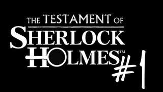 El Testamento de Sherlock Holmes Walkthrough #1 El ladron invisible | RayX GameR