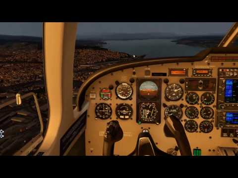 X-Plane 11 + xEnviro + Piper Saratoga ll TC + EGPE (Flying in Inverness)
