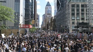 Another day of peaceful George Floyd protests as NYC ends curfew