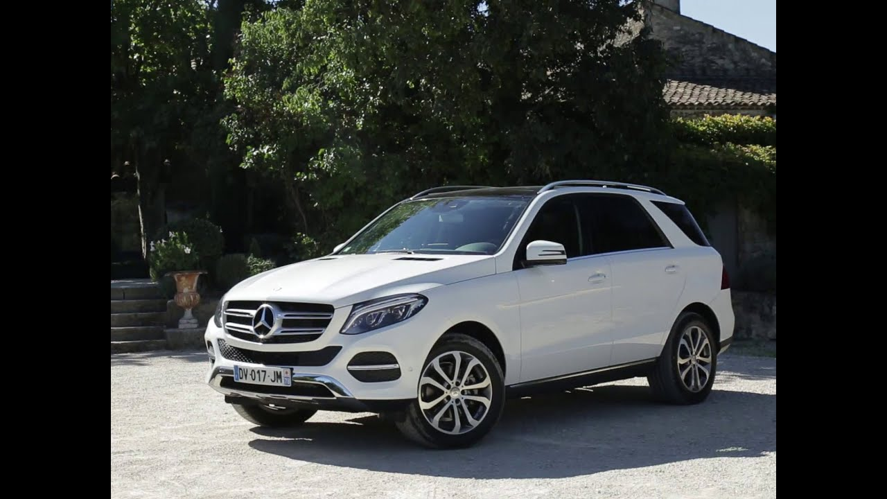 Mercedes Gle 350 4matic >> Essai Mercedes GLE 250D 4Matic Executive 2015 - YouTube