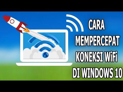 Cara Menyedot Bandwith Wifi/LAN dengan CMD (How to Suck the Wifi / LAN Bandwidth with CMD).