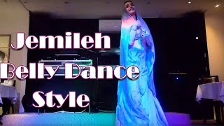 Jamileh Belly Dance Style in Persian Cabaret - Shine Belly Dancer