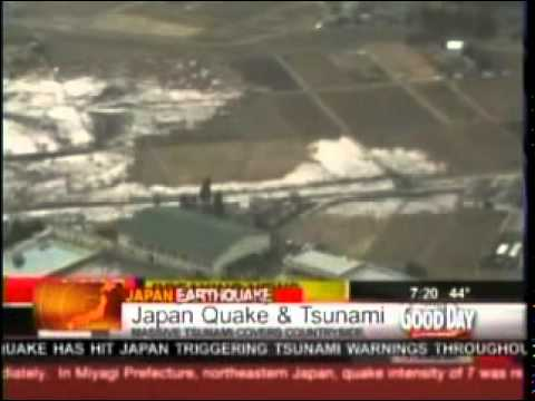 Japan Earthquake and Tsunami Update 0730 Am Pacific Time Zone 03-11-2011.mpg