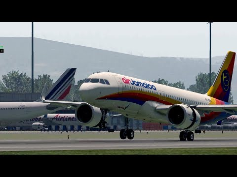 X-Plane 11 Arrival to Sangster International Airport Jamaica