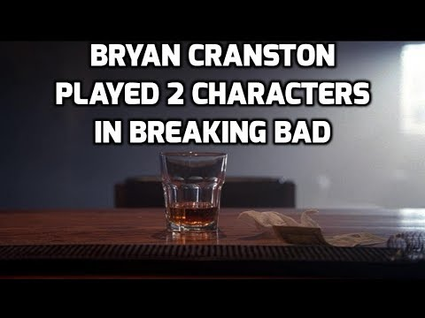 How Bryan Cranston played two characters in Breaking Bad
