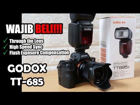 Quick Review Godox TT-685 Flash Eksternal - Wajib Beli!!!