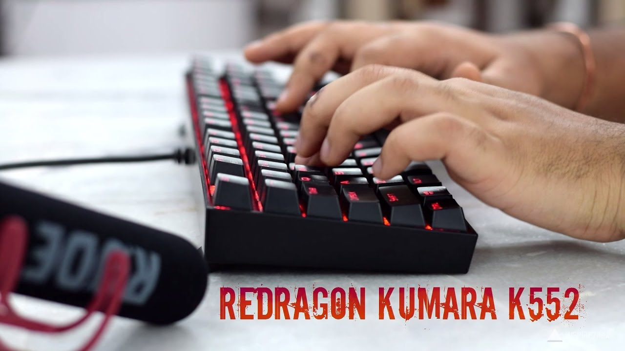 Redragon Kumara K552 Mechanical Keyboard Review Youtube