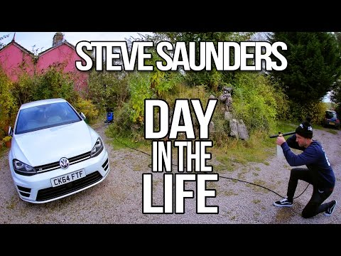 Day in the Life of Steve Saunders