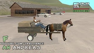 GTA SAN ANDREAS — HORSE CART