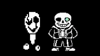 gaster s theme in song that might play when you fight sans