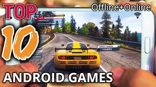 10 Best High Graphics Games for Android (Offline/Online)