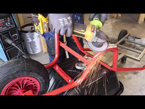 How To Build A Electric Wheelbarrow
