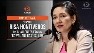 Rappler Talk: Senator Risa Hontiveros on challenges facing 'Bawal Ang Bastos' Law thumbnail