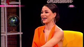 Aleksandra Mladenović o utiscima sa svadbe Bogdane i Veljka Ražnatovića (Ami G Show S12)